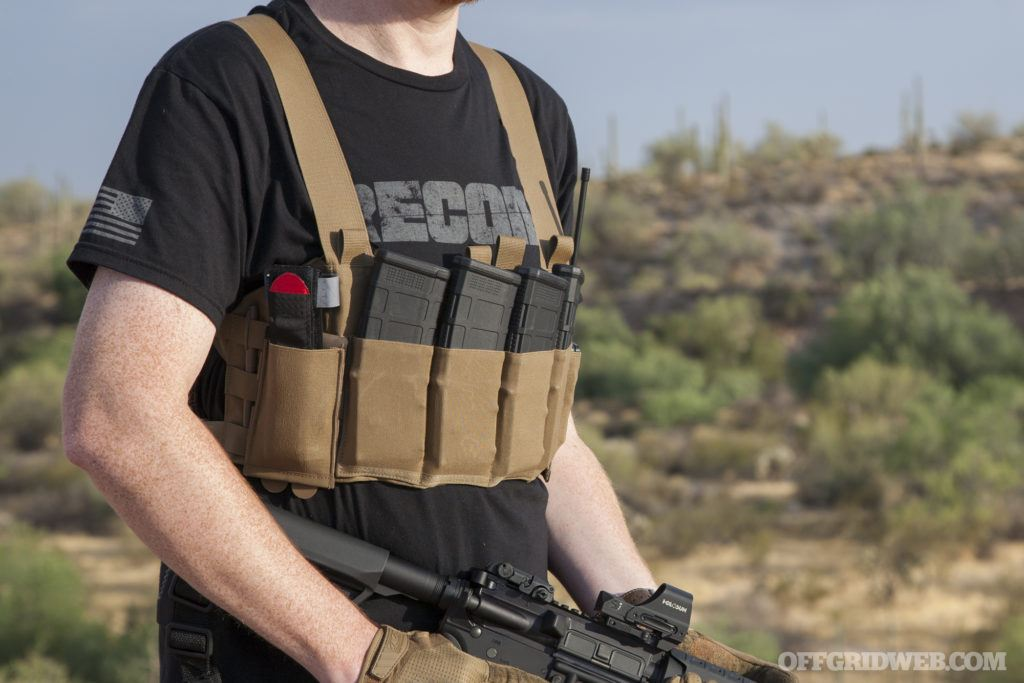 Review: Blue Force Gear Ten-Speed M4 Chest Rig