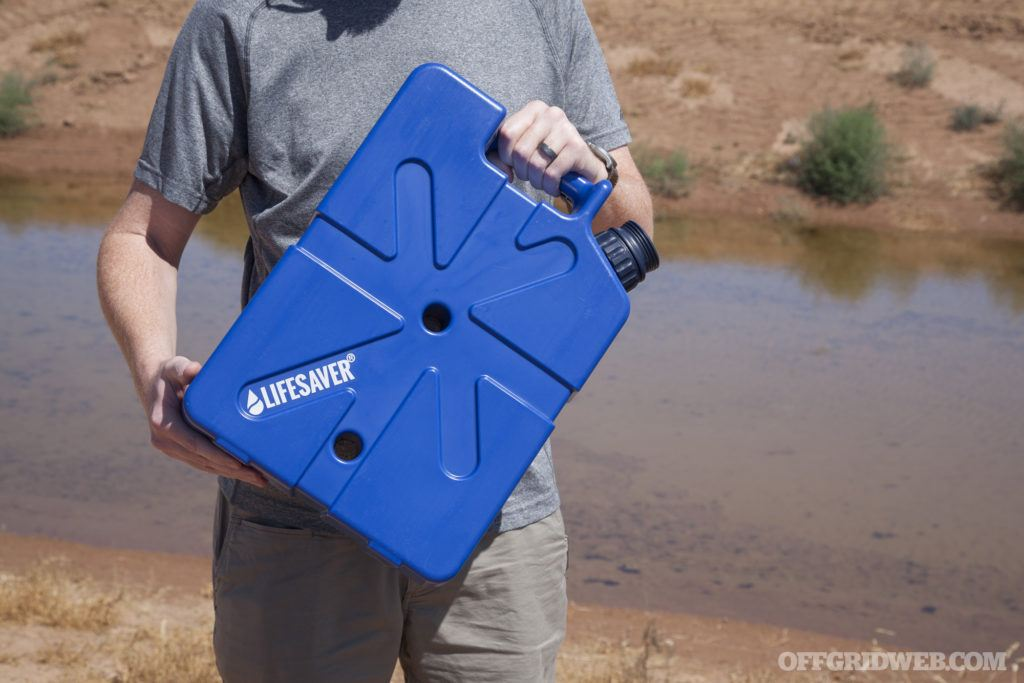 Review: LifeSaver Jerrycan Water Purifier